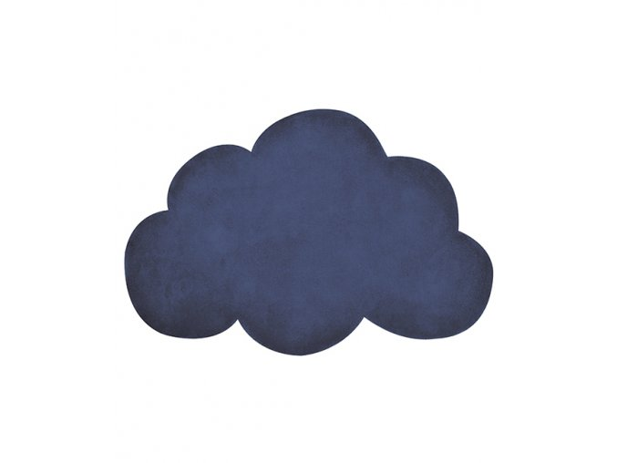 Lilipinso koberec mrak tmavě modrý 64x100 cm