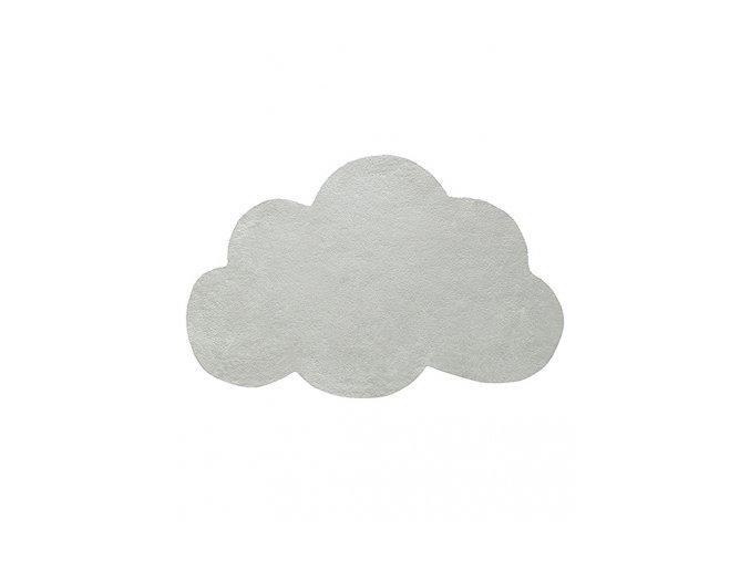 Lilipinso koberec mrak Mercury světle zelená 64x100 cm