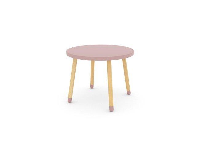 Flexa Dětský stoleček Růžový