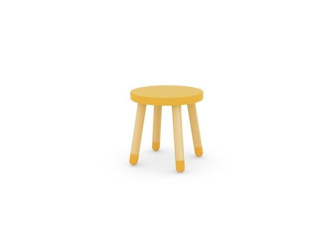 Flexa Stolička Žlutá