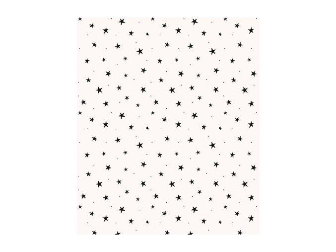 Lilipinso Tapeta vliesová Black stars