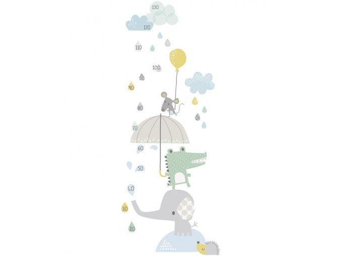 Lilipinso rostoucí metr Zvířátka v dešti