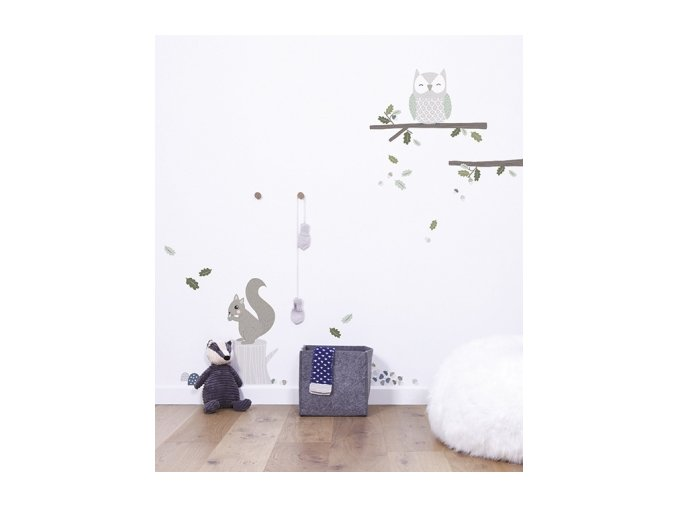 sticker enfant foret decoration lilipinso s1139 amb