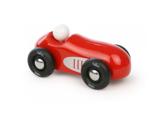 mini old sport car red
