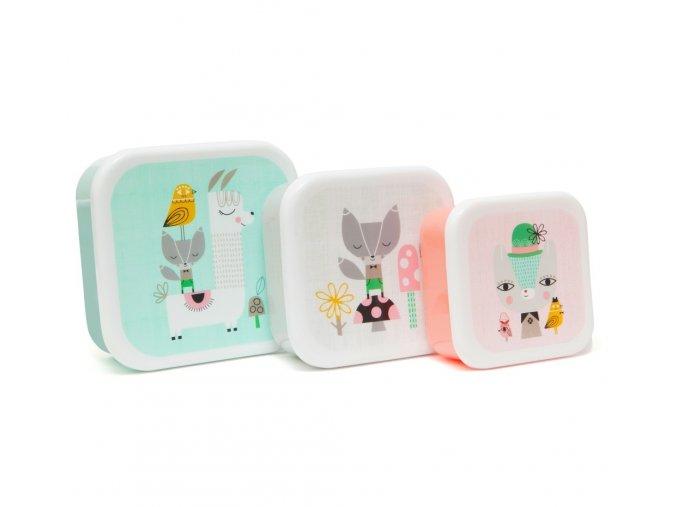 lunchbox set lama and friends lb3 set d web