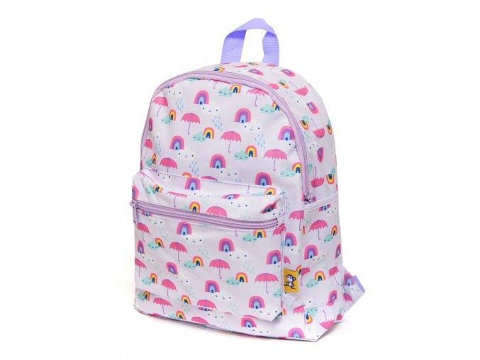 Backpack rainy days lilac BP4 a