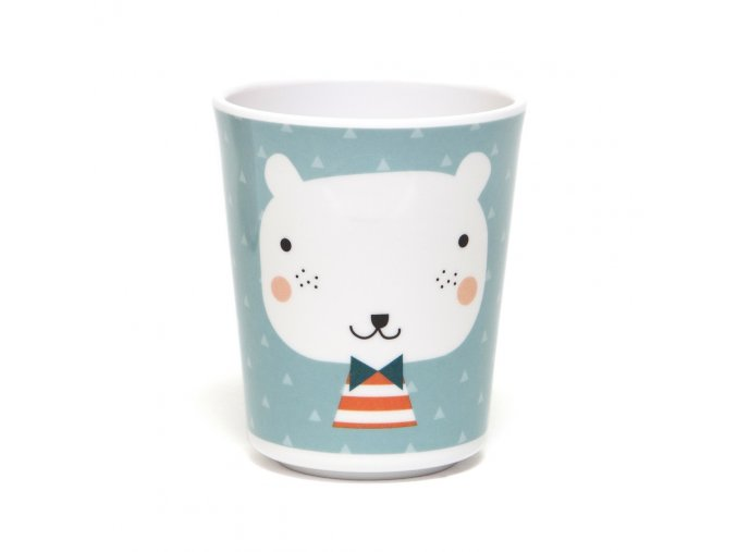 Melamine cup bear triangles MCB11 web