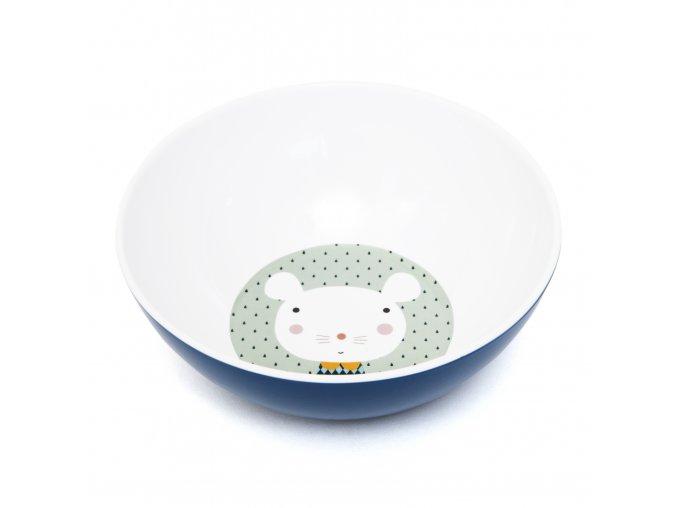 Melamine bowl mouse drops MB7