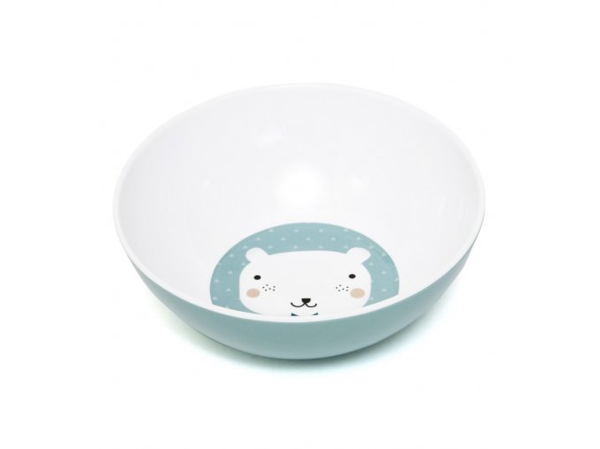 Melamine bowl bear triangle MB6