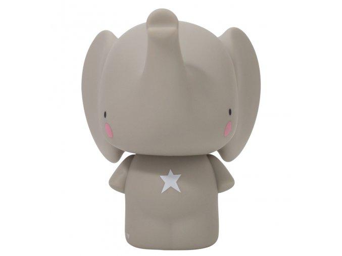 MBELGR05 1 LR money box grey elephant
