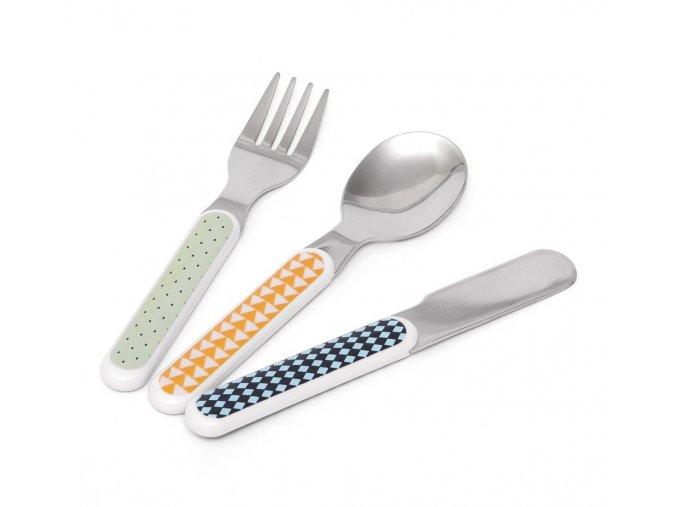 cutlery set mouse drops pebble cs2c
