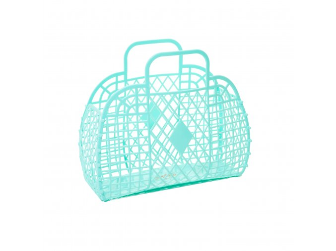 Mint Retro basket large