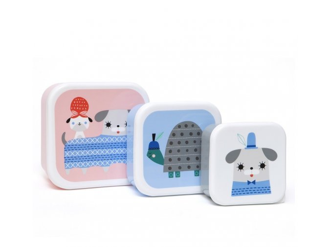 lunchbox set peanut and pip lb10 1