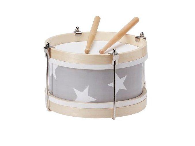 Star Grey Wooden Toy Drum 500x