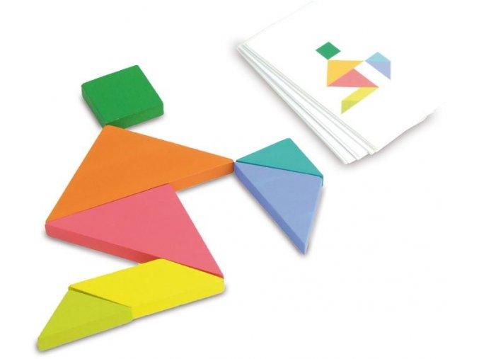Vilac Dřevěný tangram