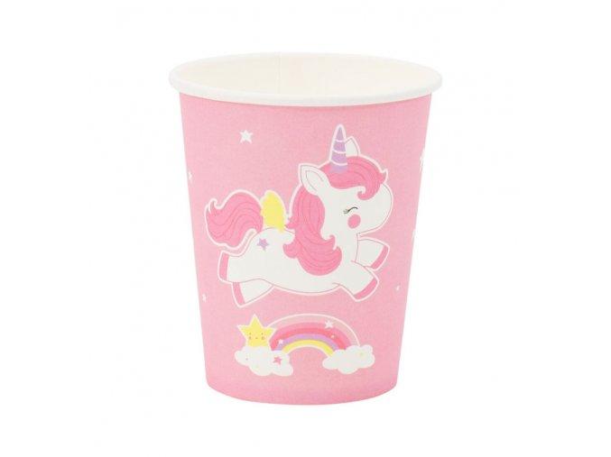 ptcuun08 1 lr paper cups unicorn