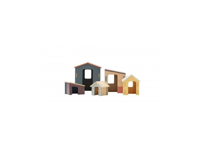 Kids Concept Set dřevěných domečků