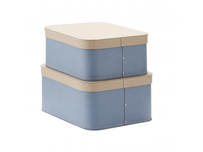 1000231 Storage Box 2 set Blue
