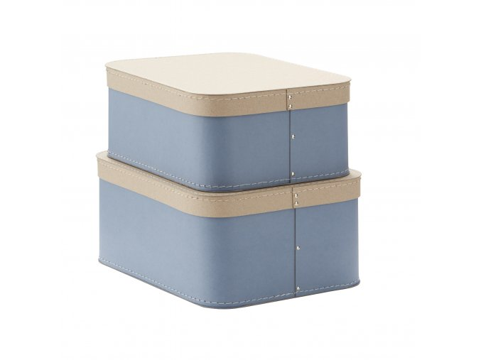 1000231 Storage Box 2 set Blue