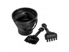BSBLAC01 LR 1 bucket and spade set black preview