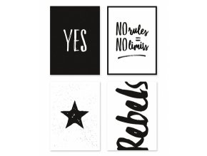 p0227 cartes postales rebels black white