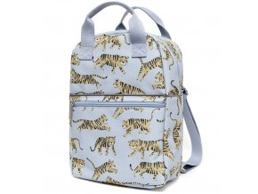 back pack large tigers grey bp11 la