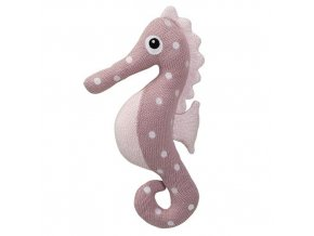 bloomingville knitted toy seahorse 01