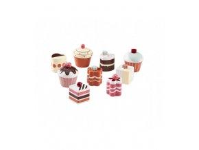 1000264 cupcakes 9 set kid s bistro 1