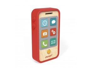 Janod Dřevěný mobil se zvuky