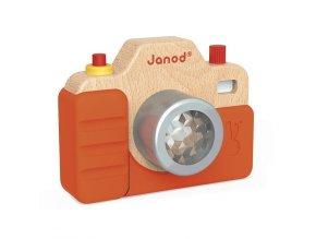Janod Dřevěný fotoaparát se zvuky