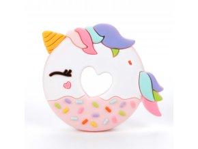 Pink Unicorn Donut Front