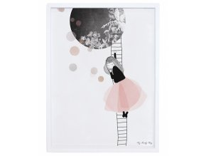 Lilipinso Plakát  The Moon 40 x 30 cm
