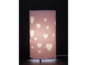 Aratextil Stolní lampička Love Rosa