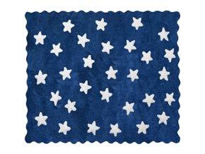Aratextil Koberec Eden tmavě modrý 120 x 160 cm