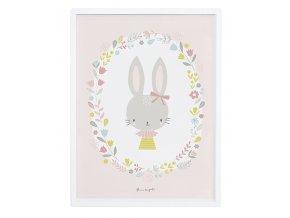 Lilipinso Plakát  Rabbit Girl 30 x  40 cm