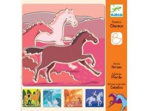 Djeco Šablony Koně