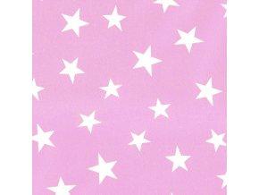 Inke Tapeta na zeď Stars Růžová 1000 x 53 cm