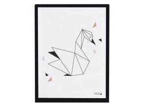 Lilipinso Plakát Swan 40 x 30 cm,