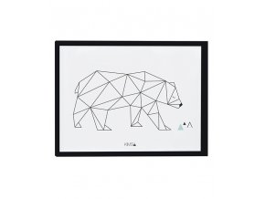 Lilipinso Plakát Bear 40 x 30 cm