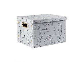 1631 ulozny box contour sedy