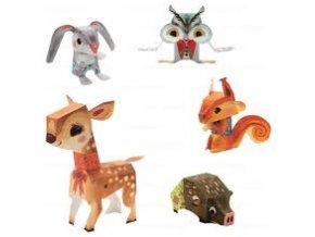 Djeco Origami skládačka zvířátka