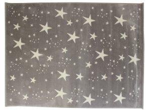 Aratextil Koberec akrylový Estrellas šedý 140 x 200 cm