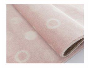 Aratextil Koberec akrylový Puntos růžový 120 x 160 cm