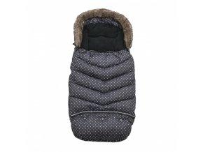 Vinter & Bloom Fusak Mini Dots Ebony Black 100 cm