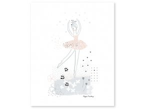 Lilipinso Plakát Baletka piruette   40 x 50 cm