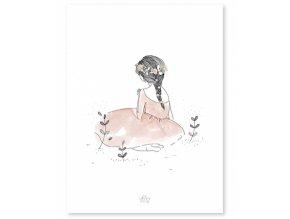 Lilipinso Plakát  Zahrada 30 x 40 cm