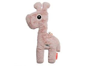 DONE BY DEER Mazlivá hračka Raffi velká - růžová