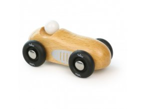 mini old sport car natural wood
