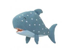 Pletená hračka Žralok