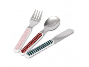 cutlery set rabbit drops pink cs3c kopie